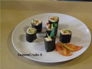 Raw Sushi.