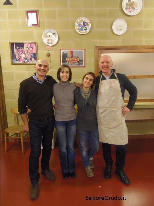 Felice, Monica, Elena ed Angelo.